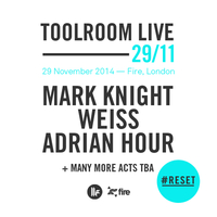 #RESET Launch Party - Toolroom Live at Fire Complex, London