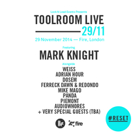 #RESET LAUNCH PARTY – Toolroom Live London Artist Announcement