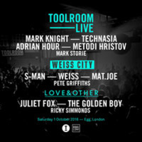 Toolroom Live returns to London Saturday Oct 1st 2016