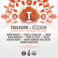 Toolroom In Stereo @ Raleigh Pool, South Beach , Miami Friday 19th March 2016