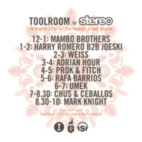 Mark Knight & Friends / Toolroom In Stereo Miami Music Week